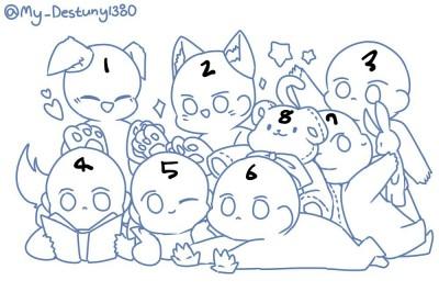 8인 트레틀 이메레스!   o_yangpa_o   Digital Drawing   PENUP
