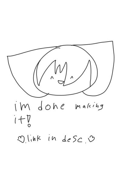 I'm done!  | .DeniseDrawing. | Digital Drawing | PENUP