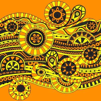 Coloring Digital Drawing | Klimtin | PENUP