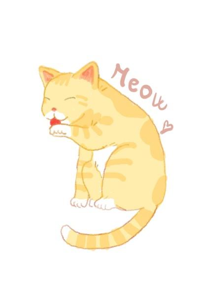 Cute cat   Simuskaaa   Digital Drawing   PENUP