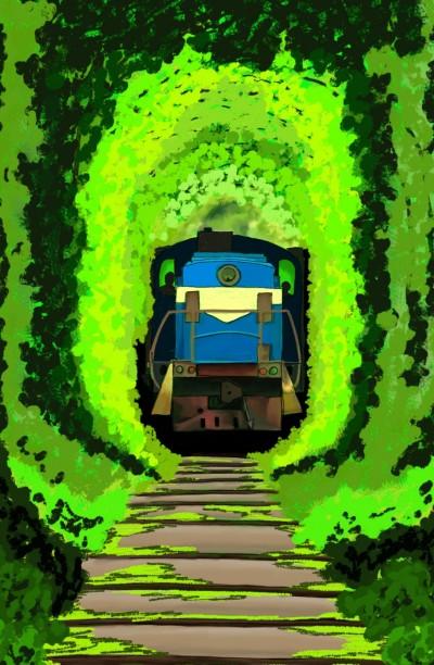 Tunnel of Love  Railway line Klevan - Itinari | sherlock | Digital Drawing | PENUP