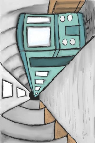 inner perspective : train♡   mariam_abbas   Digital Drawing   PENUP