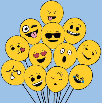 Emoji Balloon   Syed_Deen   Digital Drawing   PENUP