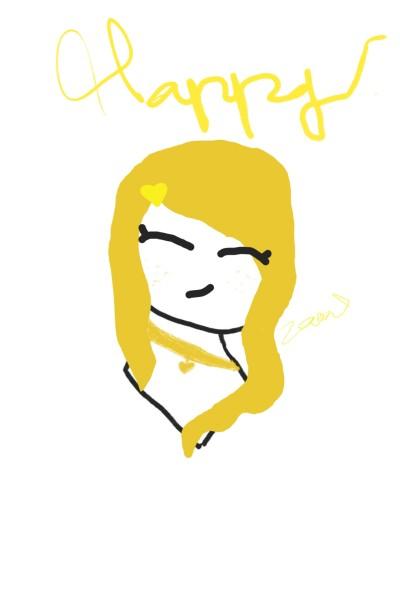 Happy   nikaia   Digital Drawing   PENUP