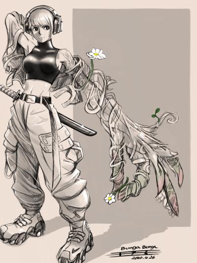 flower  | tosi73 | Digital Drawing | PENUP