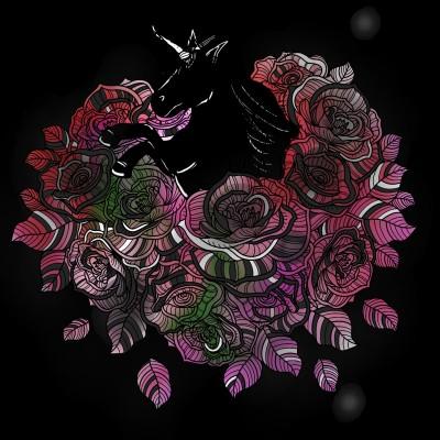 Dark Horse  | Dragon_Halfling | Digital Drawing | PENUP