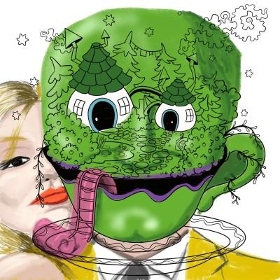 the mask | J-O-C | Digital Drawing | PENUP