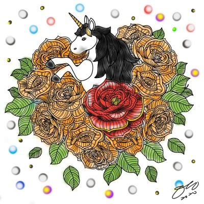 Coloring Digital Drawing | nys8244 | PENUP