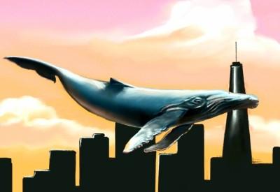 Flying Whale    -DANDELION-   Digital Drawing   PENUP