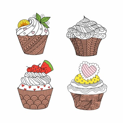 Cupcakes | Peopleperson | Digital Drawing | PENUP