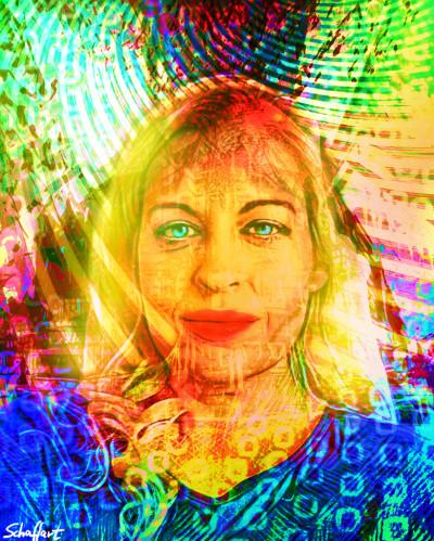 my beARTutiful wife  | Juergen | Digital Drawing | PENUP