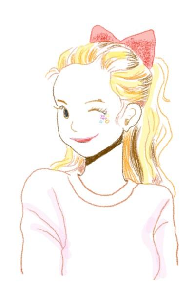 여자 | Ucha_ML | Digital Drawing | PENUP