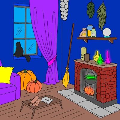 Witches Studio   cptpebkac   Digital Drawing   PENUP