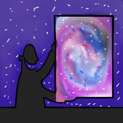 galaxy with poetic justice? | THE_BEST | Digital Drawing | PENUP