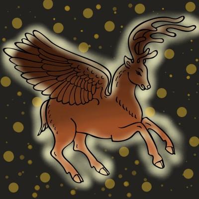 Reindeer | Annie09 | Digital Drawing | PENUP