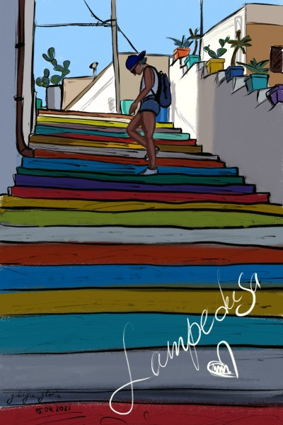 Lampedusa <3 | golaya_gloria | Digital Drawing | PENUP