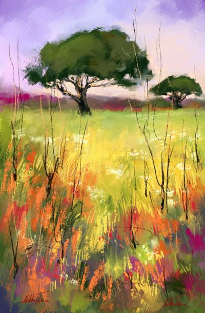 ~ Summer tree ~ | Mishelangello | Digital Drawing | PENUP
