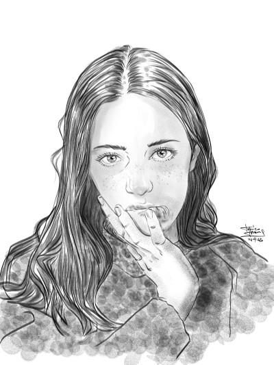 Matilde | jericojhones | Digital Drawing | PENUP