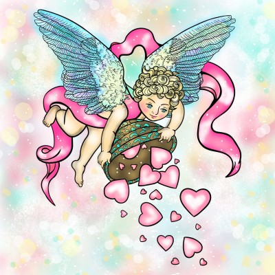 Cupid draw back your bow ♡♡♡ | Sylvia | Digital Drawing | PENUP