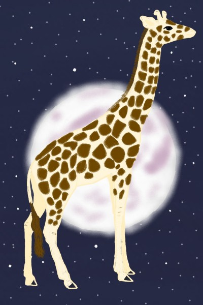 Giraffe    Queeeen   Digital Drawing   PENUP