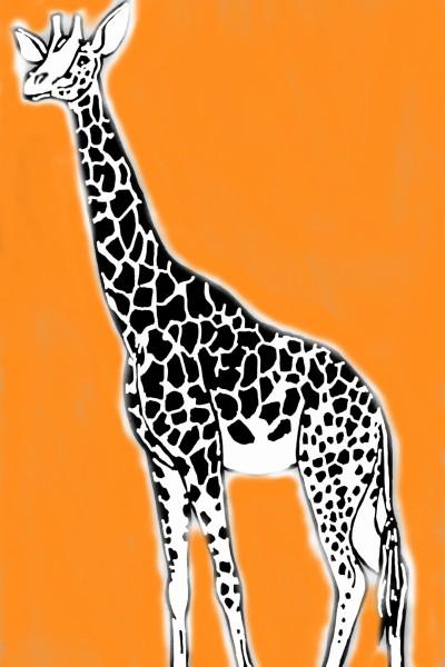 żyraf   Drakeen   Digital Drawing   PENUP