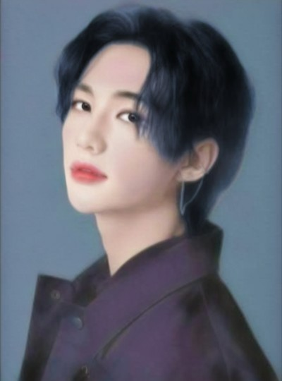 hyunjin for @Ecrinlix | mochi_ | Digital Drawing | PENUP