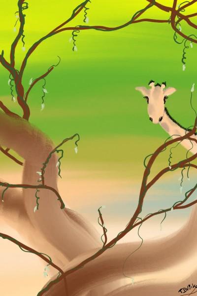giraffe   Vinkie   Digital Drawing   PENUP