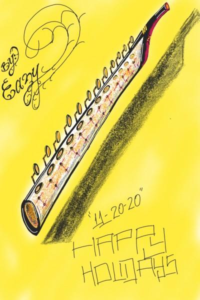 the clarinet    EZ-N-MOMMAZ-ART   Digital Drawing   PENUP