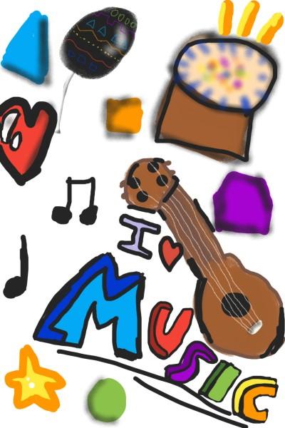 Instruments | Arianamaral | Digital Drawing | PENUP