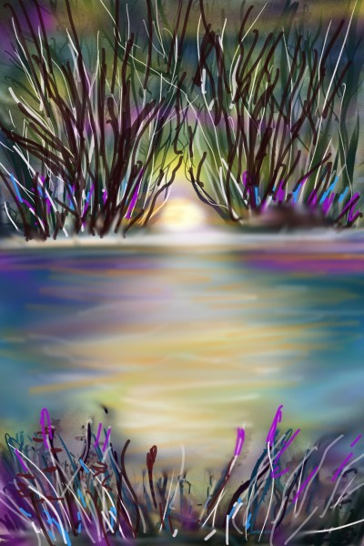 Landscape Digital Drawing | Barbra | PENUP