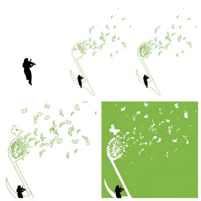 How I Drew The Dandelion Music | MissyJ | Digital Drawing | PENUP