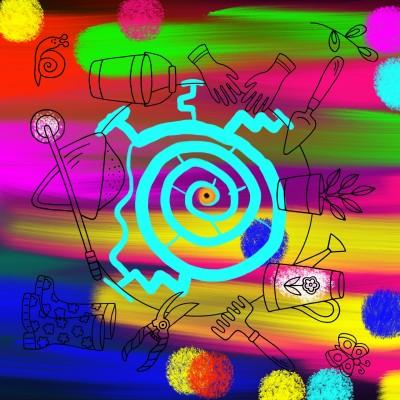 Secret Garden Maze | MissLady | Digital Drawing | PENUP
