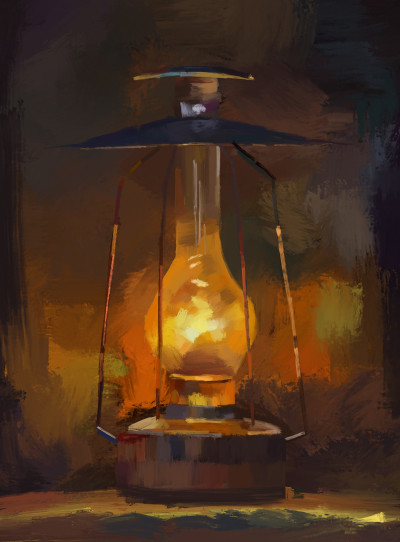I know it's a lamp but pretend it's a candle | nikola | Digital Drawing | PENUP