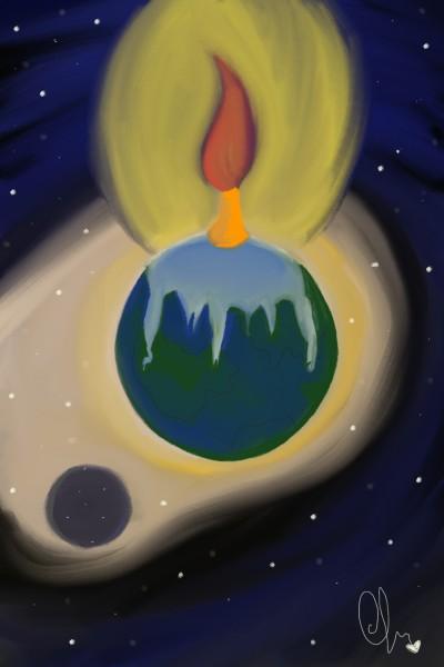 terra che brucia   Olga   Digital Drawing   PENUP