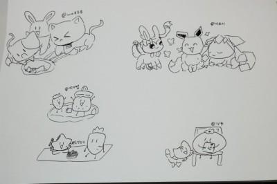 낙서 | Milk_waffle | Digital Drawing | PENUP