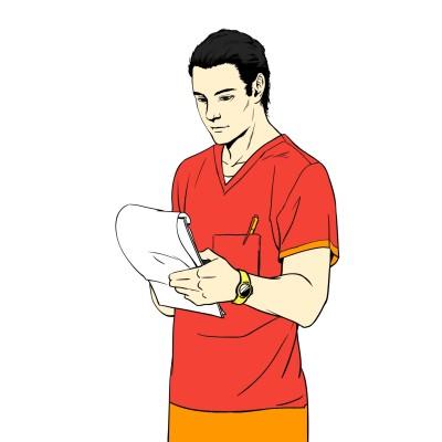 핼스클럽 트래이너 | narsha | Digital Drawing | PENUP