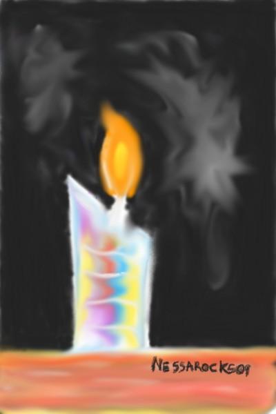 Psyedelic Candle #2   Nessarocks09   Digital Drawing   PENUP