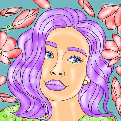 Coloring Digital Drawing | sanahojabri | PENUP