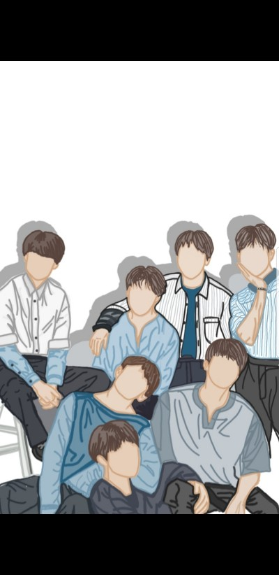 BTS group    Malyka   Digital Drawing   PENUP