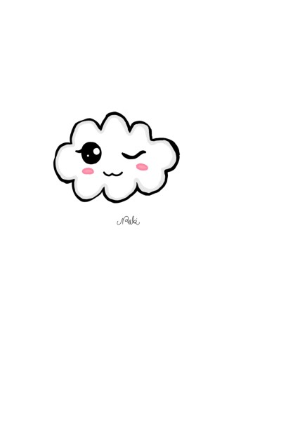 cute cloud    Nabobo   Digital Drawing   PENUP