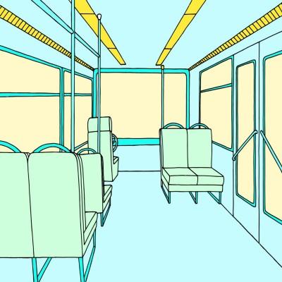 Bus | Amanda | Digital Drawing | PENUP
