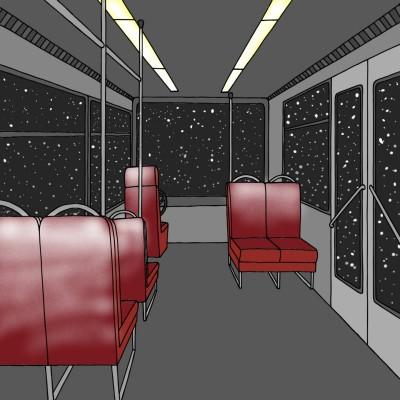 Night Train | Annie09 | Digital Drawing | PENUP