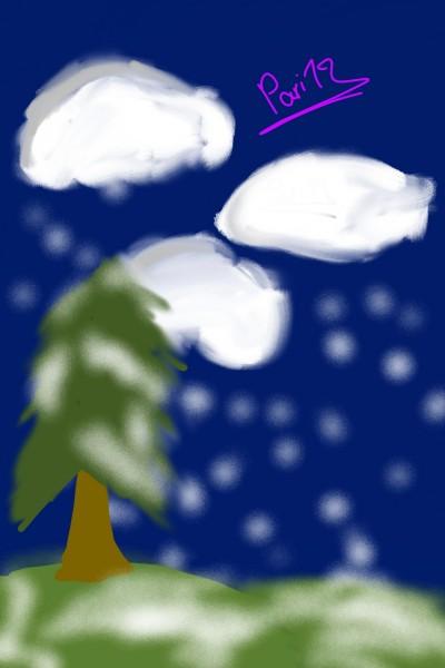 cloud  | pari19 | Digital Drawing | PENUP