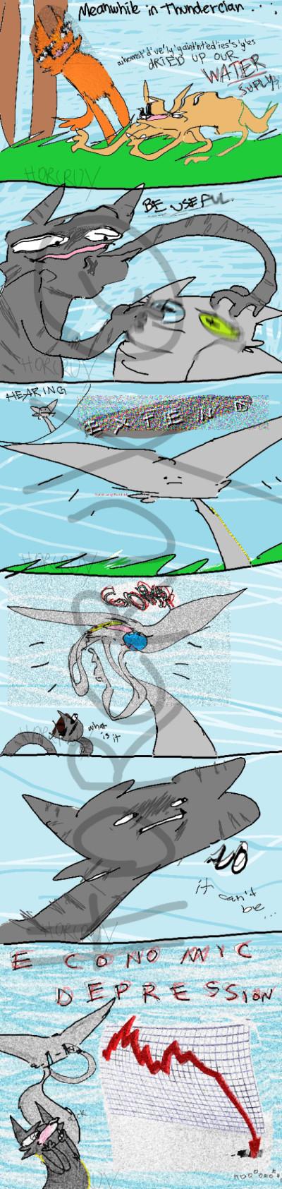 Economyc Depression.  | _Horcrux_ | Digital Drawing | PENUP