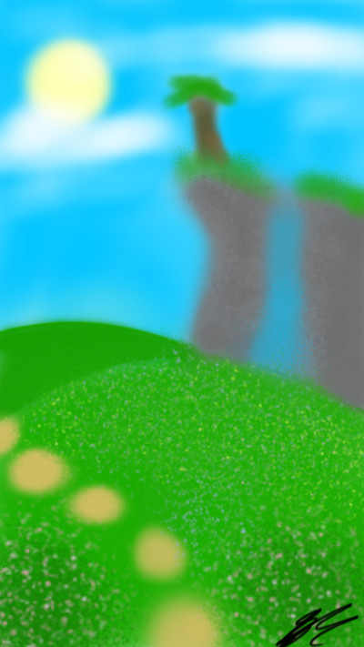 Landscape Digital Drawing | Savannah_831 | PENUP