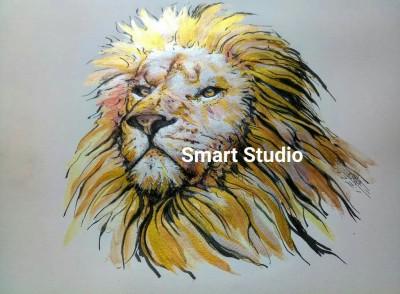 Lion king @ my color pencils Drawings  | SmartStudio | Digital Drawing | PENUP