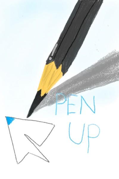 pencil penup   DaEun   Digital Drawing   PENUP