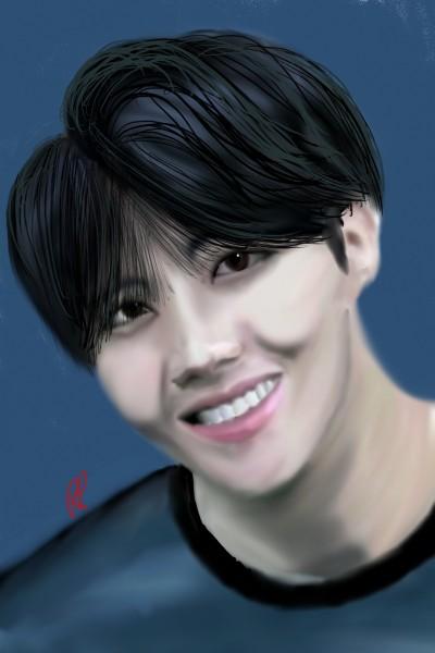 Jhope BTS   Rebecca   Digital Drawing   PENUP