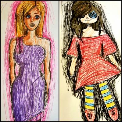 Barbies or Ragdolls?   Jazz   Digital Drawing   PENUP