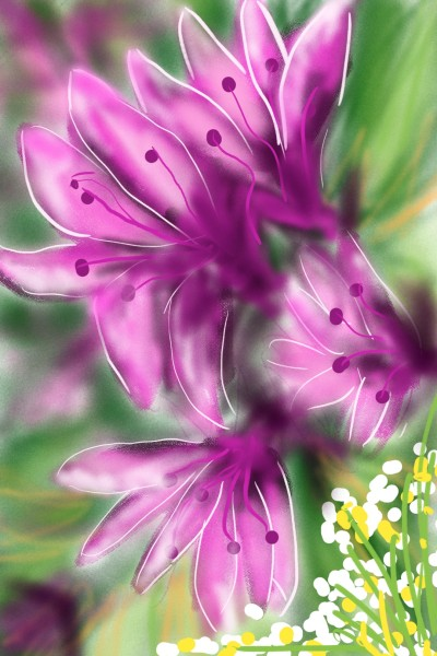 AZALEA FOR KOREAN PEOPLE | Barbra | Digital Drawing | PENUP